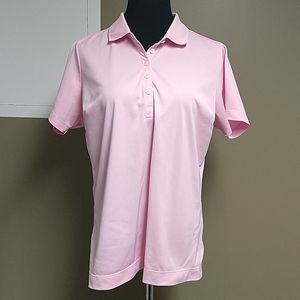 Nike dri-fit golf size XL pink shirt